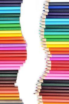 Free Colored Pencils Stock Photo - 16671610