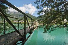 Free Colors Of Auronzo Lake, Dolomites Stock Images - 16671984