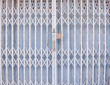 Free Old Metallic Locked Door Stock Photo - 16672400