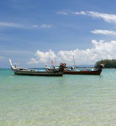 Beautiful Ocean View Stock Images