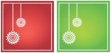 Free Set Of Seasonal Greetings Stock Images - 16673234