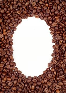 Free Coffee Beans Frame (background) Stock Photos - 16673893