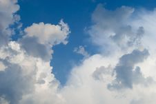 Free Sky With Clouds Royalty Free Stock Image - 16674656