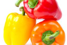 Free Capsicum. Sweet Peppers Stock Images - 16674864