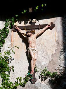 Free Wooden Crucifix Stock Photos - 16674983