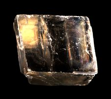 Free Mineral Iceland Spar Isolated Royalty Free Stock Images - 16675049