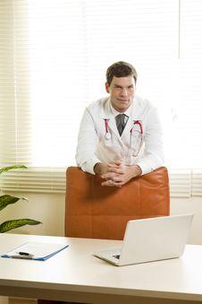 Free Doctor In His Studio Stock Photo - 16675180