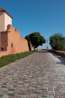 Free Old Town Wall In Warsaw Royalty Free Stock Photos - 16675198