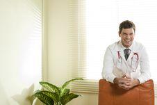 Free Doctor In His Studio Stock Image - 16675211
