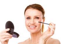 Free Mascara Makeup Royalty Free Stock Photography - 16675217