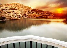 Free Lake Landscape Royalty Free Stock Photos - 16675578