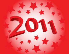 Free New Year 2011 Stock Photography - 16675642