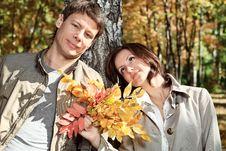 Free Family Autumn Royalty Free Stock Photo - 16676225