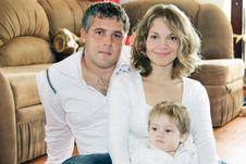 Free Loving Family At Home Royalty Free Stock Photos - 16676368