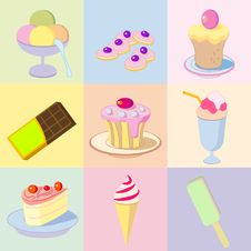 Free Sweets Royalty Free Stock Images - 16676619