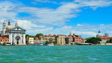 Free Seaview Of Venice, Italy . Panorama Royalty Free Stock Photography - 16676627