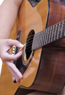 Free Accoustic Guitar Stock Images - 16677174