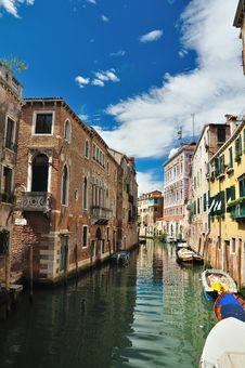 Classic View Of Venice Royalty Free Stock Photos