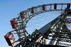 Free Wiener Riesenrad (Vienna Giant Ferris Wheel) Stock Photography - 16677462