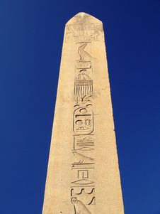 Egyptian Obelisk Royalty Free Stock Images