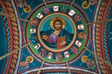 Free Church Ceiling Royalty Free Stock Image - 16677926