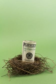 Free Retirement Nest Egg Stock Image - 16677981