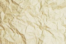 Free Crumpled Recycle Paper Royalty Free Stock Photo - 16678035