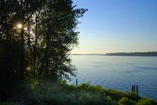 Free Columbia River Sunset Stock Image - 16679271