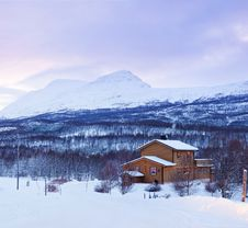 Free A Typical Norwegian House. Stock Photos - 16679403