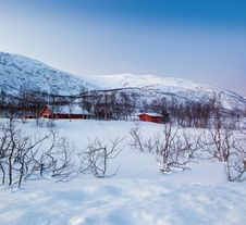 Free A Typical Norwegian House. Royalty Free Stock Photos - 16679418