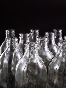 Free Empty Bottles Royalty Free Stock Photo - 16679995