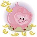 Free Piggy Bank,euro Royalty Free Stock Photo - 16685235