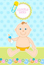 Free Baby Arrival Card Stock Photo - 16687480