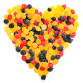 Free Beautiful Sweet Candies In Heart Shape Royalty Free Stock Image - 16688436