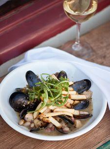 Free Mussel Cuisine Stock Image - 16680021