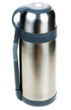 Free Steel Thermos Locked Insulated Royalty Free Stock Image - 16681216