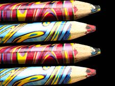 Free Colorful Pencils Royalty Free Stock Photography - 16681657