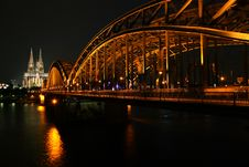 Free Cologne Bridge Stock Photography - 16682172