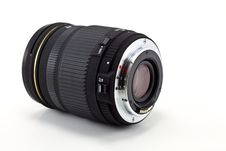 Free Black Camera Lens Royalty Free Stock Photo - 16682905
