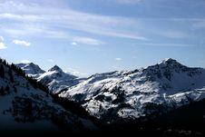 Free Mountain Winter View Stock Photo - 16682920