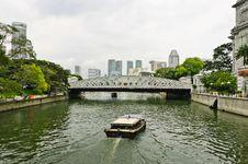 Free Boats And Bridge Stock Photo - 16683120