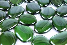 Free Green Decorative Stones Stock Photo - 16683380