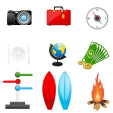 Free Travel Icon Stock Image - 16684781