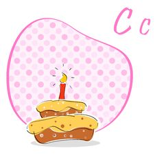Free C For Cake Stock Photos - 16684783