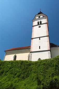 Free Church And Blue Sky Stock Image - 16685231