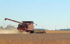 Free Harvesting Soybeans Stock Photo - 16685450