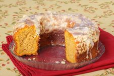 Free Pumpkin Cake Royalty Free Stock Image - 16685576