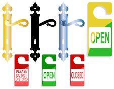Free Door-handle Royalty Free Stock Image - 16685706