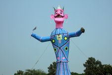 Free Meghnath Effigy In A Ground Royalty Free Stock Photography - 16686257
