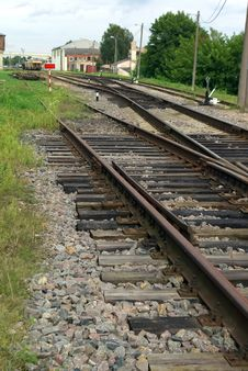 Free The Rail Track Stock Photography - 16686502